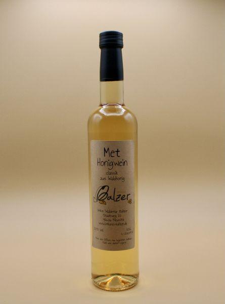 Met - Honigwein aus Waldhonig 0,5L 13,4% vol.